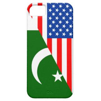 Flaggen-Amerika-Symbol Landes USA Pakistan halbes iPhone 5 Schutzhüllen