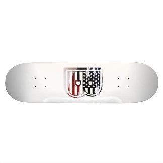 Flaggen-amerikanische Initiale des Monogramm-B USA 20,1 Cm Skateboard Deck