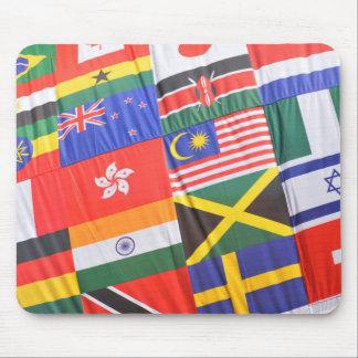 Flaggen der Welt Mousepad