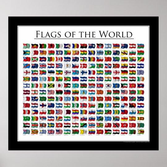 Flaggen Der Welt Mit Ländernamen Zum Drucken Hylen Maddawards Com