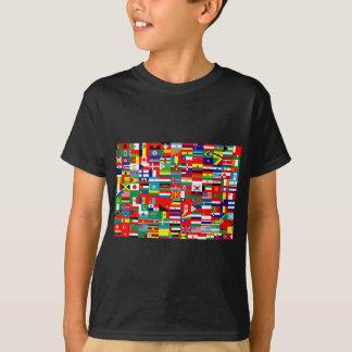 FLAGGEN DER WELT T-Shirt