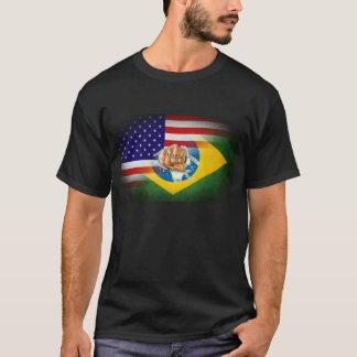 Flaggen-Fusion MIXED MARTIAL ARTS T - Shirt