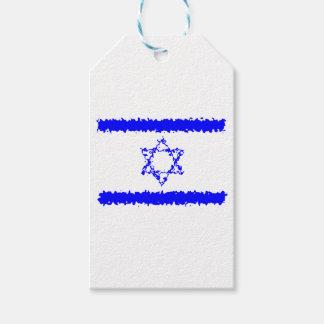 Flaggen-Israel-Blau-Land Geschenkanhänger