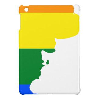 Flaggen-Karte Argentiniens LGBT iPad Mini Hülle