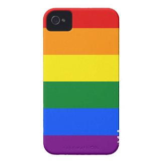 Flaggen-Karte Arkansas LGBT iPhone 4 Case-Mate Hülle