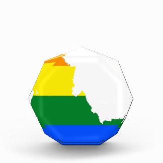 Flaggen-Karte Idahos LGBT Auszeichnung