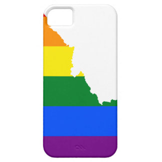 Flaggen-Karte Idahos LGBT Etui Fürs iPhone 5