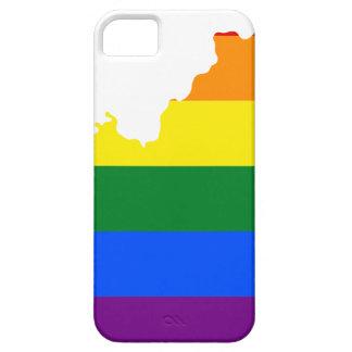 Flaggen-Karte Kentuckys LGBT iPhone 5 Cover