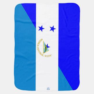 Flaggen-Landsymbol Hondurass Nicaragua halbes Babydecke
