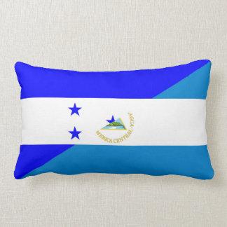 Flaggen-Landsymbol Hondurass Nicaragua halbes Lendenkissen