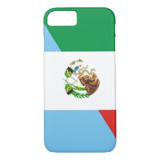 Flaggen-Landsymbol Mexikos Guatemala halbes iPhone 8/7 Hülle