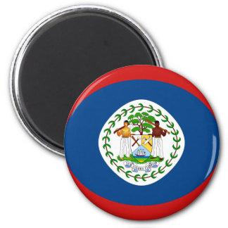 Flaggen-Magnet Belizes Fisheye Runder Magnet 5,7 Cm