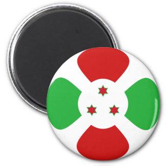 Flaggen-Magnet Burundis Fisheye Runder Magnet 5,7 Cm