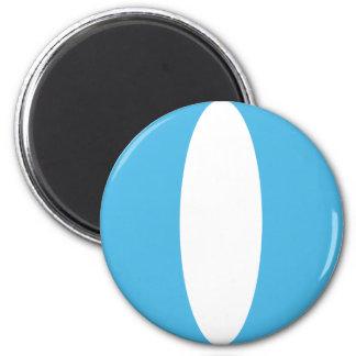 Flaggen-Magnet Guatemalas Fisheye Runder Magnet 5,1 Cm