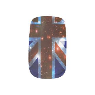 Flaggen-Nagel-Kunst Minx Nagelkunst