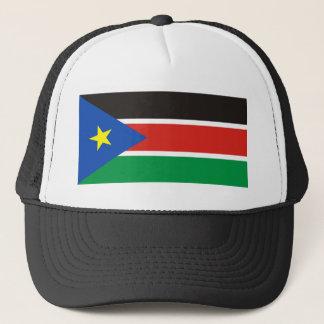 Flaggen-Nationssymbol Südsudan-Landes langes Truckerkappe