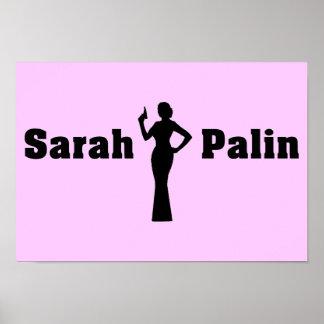 Flaggen-Plakat Sarahs Palin US Poster