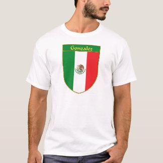 Flaggen-Schild Gonzalez Mexiko T-Shirt