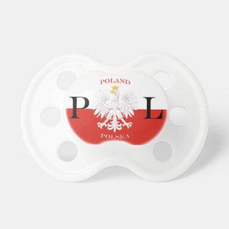 Flaggen-Schnuller Polens Polska Schnuller