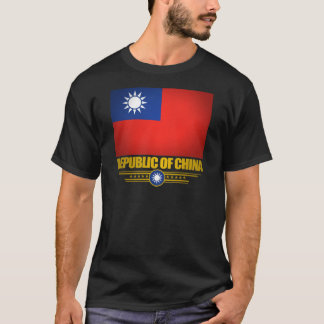 Flaggen-Shirts Taiwans (die Republik China) T-Shirt