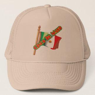 Flaggen-T - Shirts und Geschenke Cinco Des Mayo Truckerkappe