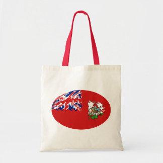 Flaggen-Tasche Bermudas Bhutan Budget Stoffbeutel