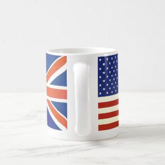 Flaggen USA Briten Kaffeetasse