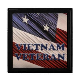 Flaggen-Vietnam-Veteran USA militärischer Geschenkbox