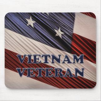 Flaggen-Vietnam-Veteran USA militärischer Mauspad