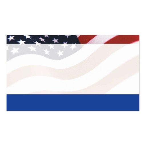 Flaggen-Visitenkarte