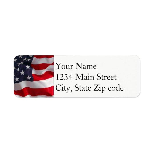 FlaggenAdressen-Etikett