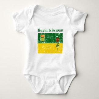 Flaggenentwurf Saskatchewans Kanada Baby Strampler