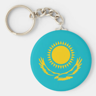 Flaggennations-Symbol republi Kasachstan-Landes Schlüsselanhänger