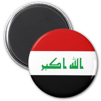 Flaggennations-Symbolrepublik der Irak-Landes Runder Magnet 5,7 Cm