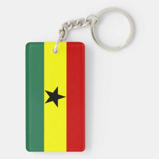Flaggennations-Symbolrepublik Ghana-Landes lange Schlüsselanhänger