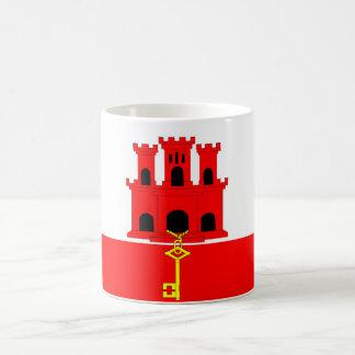 Flaggennations-Symbolrepublik Gibraltar-Landes Kaffeetasse