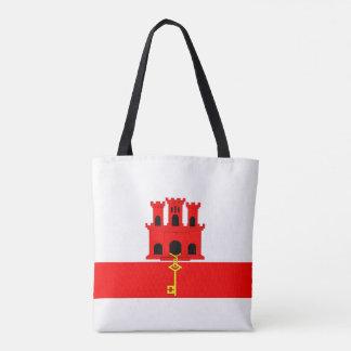 Flaggennations-Symbolrepublik Gibraltar-Landes Tasche