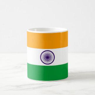 Flaggennations-Symbolrepublik Indien-Landes lange Kaffeetasse