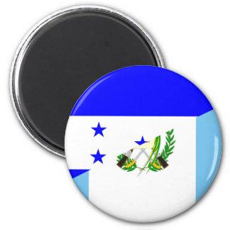 Flaggensymbol Landes Hondurass Guatemala halbes Runder Magnet 5,7 Cm