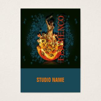 Flamenco II - Geschäft, Zeitplan-Karte Visitenkarte