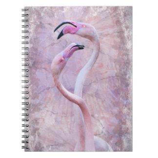 Flamenco-Notizbuch Notizblock
