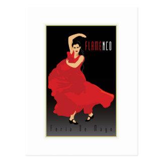Flamenco Postkarte