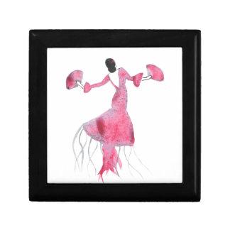 Flamenco-Quallen - Sabrina Geschenkbox