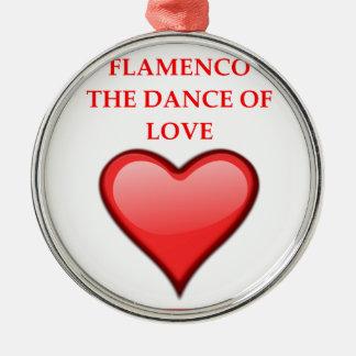 FLAMENCO SILBERNES ORNAMENT