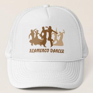 Flamenco-Tänzer-Illustration Truckerkappe