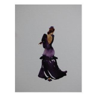 Flamenco-Tänzer-Postkarte Postkarte