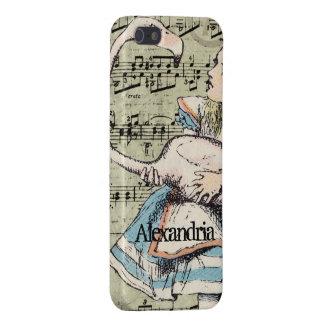 Flamingo-Alice im Wunderland iPhone Fall iPhone 5 Etui