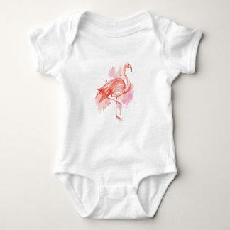 Flamingo Baby Strampler