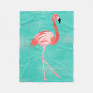 Flamingo Burd Fleecedecke