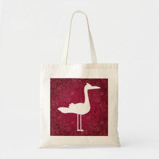 Flamingo duckt minimales budget stoffbeutel